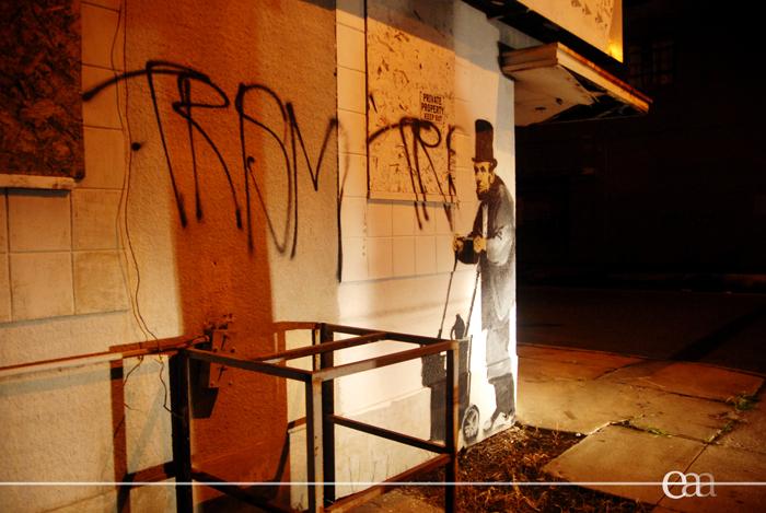 Banksy Abe 2008