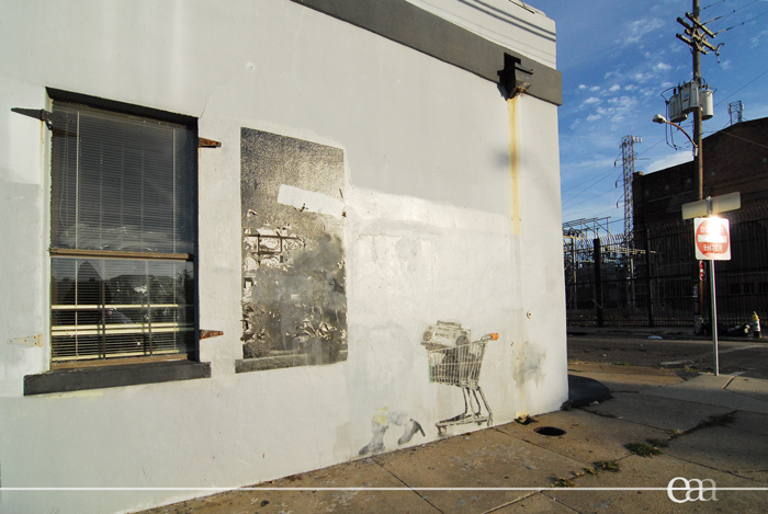 Banksy Looters 2010