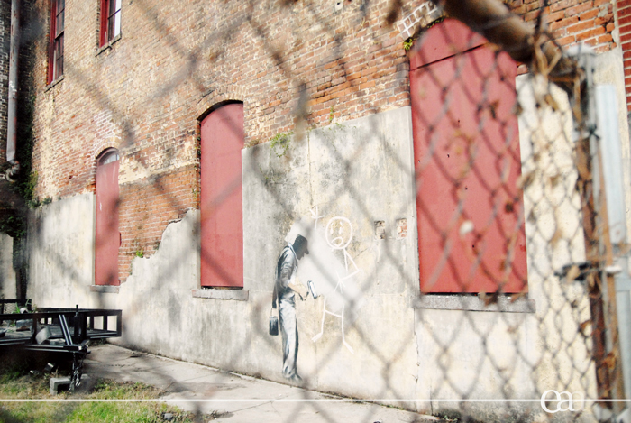 Banksy Gray Ghost 2 2008